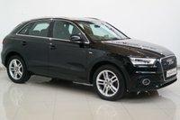 2012 AUDI Q3 2.0 TDI QUATTRO S LINE 5d AUTO 175 BHP £11950.00