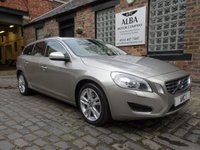 USED 2011 11 VOLVO V60 2.0 T5 SE LUX 5d AUTO 237 BHP (12 Months Warranty Included)
