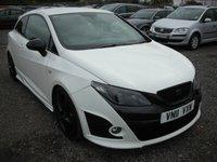 2011 SEAT IBIZA 1.4 TSI CUPRA BOCANEGRA DSG 3d AUTO 200 BHP £6000.00