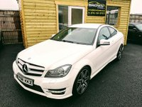 USED 2012 62 MERCEDES-BENZ C-CLASS 2.1 C250 CDI BLUEEFFICIENCY AMG SPORT PLUS 2d AUTO 202 BHP 2012 Mercedes C-Class Sport C250 AMG SPORT + CDI BLUE ****FINANCE £47 PER WEEK ****