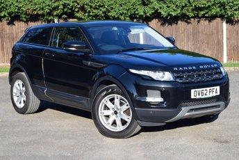 2012 LAND ROVER RANGE ROVER EVOQUE 2.2 SD4 PURE TECH 3d AUTO 190 BHP £15450.00