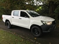 USED 2016 66 TOYOTA HI-LUX ACTIVE 4WD D-4D D/CAB NEWSHAPE PICKUP **LOW MILES**