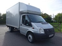 2013 FORD TRANSIT 350 EF LWB LUTON WITH TAILIFT 2.2TDCI 155 BHP £SOLD