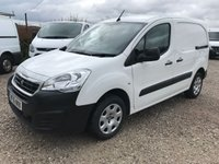 USED 2016 16 PEUGEOT PARTNER 1.6 HDI PROFESSIONAL 90PS NEWSHAPE **LOW MILES**