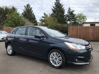 2012 CITROEN C4 1.6 HDI VTR PLUS 5d WITH LOADS OF SERVICE HISTORY £4500.00