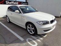 2010 BMW 1 SERIES 2.0 116I SPORT 3d 121 BHP £5275.00