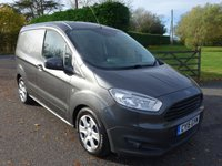 USED 2015 15 FORD TRANSIT COURIER TREND 1.6 TDCI 95 BHP Direct From Leasing Company With F/S/H In Popular Magnetic Grey! Higher Specification Model With Additional Air Con! Very Clean Example!