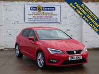 USED 2014 14 SEAT LEON 2.0 TDI FR TECHNOLOGY 5d 150 BHP Full SEAT History SAT-NAV DAB Buy Now, Pay in 2 Months!