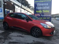 USED 2014 14 RENAULT CLIO 1.1 DYNAMIQUE MEDIANAV 5d 75 BHP, 1 Owner, only 38000 miles ***GREAT FINANCE DEALS AVAILABLE***