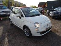 2010 FIAT 500 1.2 C LOUNGE MULTIJET 3d 75 BHP £3990.00