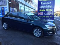 2015 VAUXHALL ASTRA 2.0 ELITE CDTI S/S 5d 163 BHP, only 26000 miles, 1 Owner £8995.00