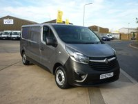 2017 VAUXHALL VIVARO 1.6 L2H1 2900 CDTI 120 BHP BLUETOOTH ELECTRIC PACK AND MORE  £SOLD
