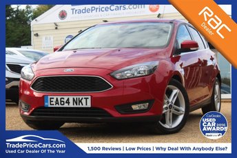 2014 FORD FOCUS 1.0 ZETEC 5d 124 BHP £8950.00