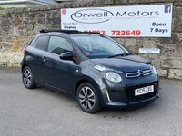 USED 2015 15 CITROEN C1 1.2 PURETECH AIRSCAPE FLAIR 3d 82 BHP ELECTRIC SLIDING ROOF+REAR REVERSING CAMERA+FINANCE AVAILABLE