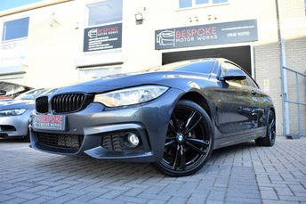 2014 BMW 4 SERIES 420D M SPORT COUPE £18995.00