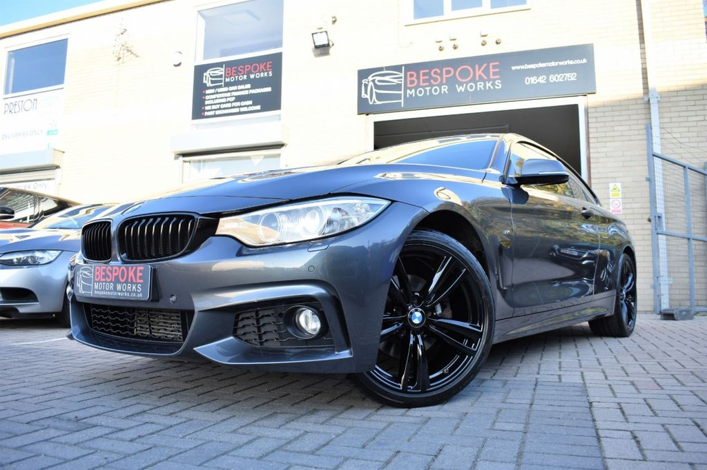 USED 2014 64 BMW 4 SERIES 420D M SPORT COUPE