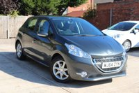 USED 2014 64 PEUGEOT 208 1.2 ACTIVE 5d 82 BHP **** £20 ROAD TAX * BLUETOOTH * AIR CON * DAB RADIO ****