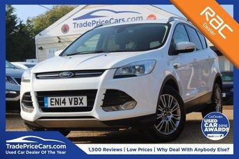 2014 FORD KUGA 2.0 TITANIUM TDCI 2WD 5d 138 BHP £11650.00