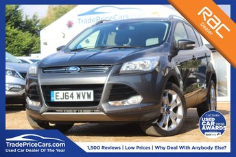 2014 FORD KUGA 2.0 TITANIUM TDCI 5d AUTO 177 BHP £13950.00