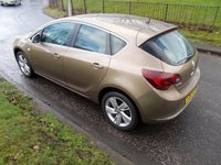 USED 2013 63 VAUXHALL ASTRA 1.4 SRI 5d 98 BHP ++LOW MILEAGE CAR COMES WITH A FREE 6 MONTHS BREAKDOWN COVER++