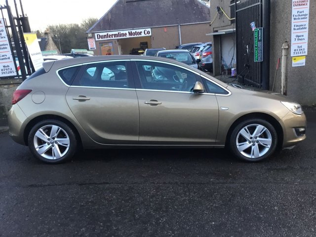 USED 2013 63 VAUXHALL ASTRA 1.4 SRI 5d 98 BHP ++FOR FULL DETAILS CALL JOHN ON 07972385205++