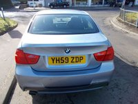 USED 2009 59 BMW 3 SERIES 2.0 318d M SPORT ++LOW MILEAGE DIESEL WITH SERVICE HISTORY+12 MONTHS FREE AA BREAKDOWN COVER++
