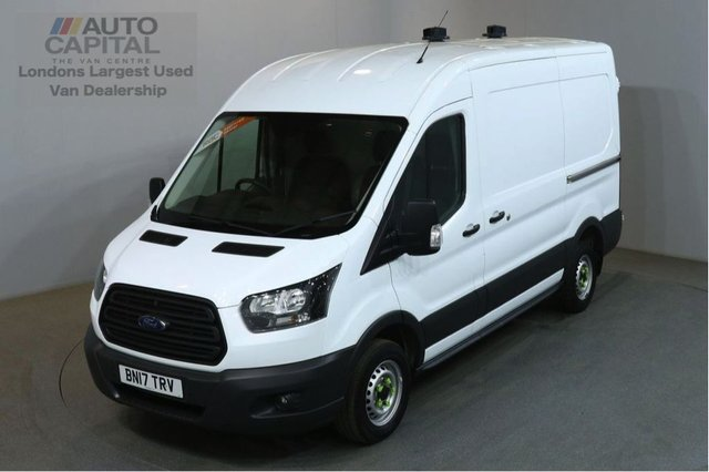 2017 17 FORD TRANSIT 2.0 310 L2 H2 105 BHP MWB MROOF AIR CON EURO 6 VAN AIR CONDITIONING EURO 6 ENGINE