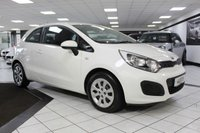 USED 2014 63 KIA RIO 1.2 1 83 BHP 1 FORMER KEEPER FROM NEW! B/T