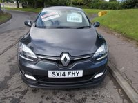 USED 2014 14 RENAULT MEGANE 1.5 DYNAMIQUE TOMTOM ENERGY DCI S/S++SERVICE HISTORY ZERO ROAD TAX++ 1.5 DYNAMIQUE TOMTOM ENERGY DCI S/S++SERVICE HISTORY ZERO ROAD TAX++