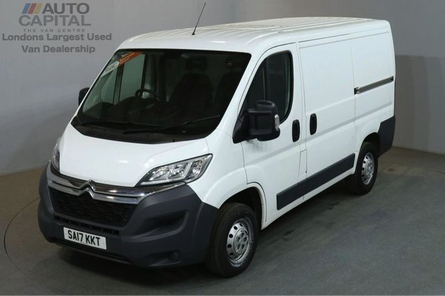 2017 17 CITROEN RELAY 2.2 33 L1H1 HDI 130 BHP SWB L/ROOF VAN LOW MILEAGE