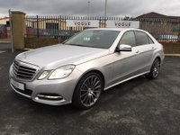 USED 2011 61 MERCEDES-BENZ E CLASS 3.0 E350 CDI BLUEEFFICIENCY AVANTGARDE ED125 4d AUTO 265 BHP