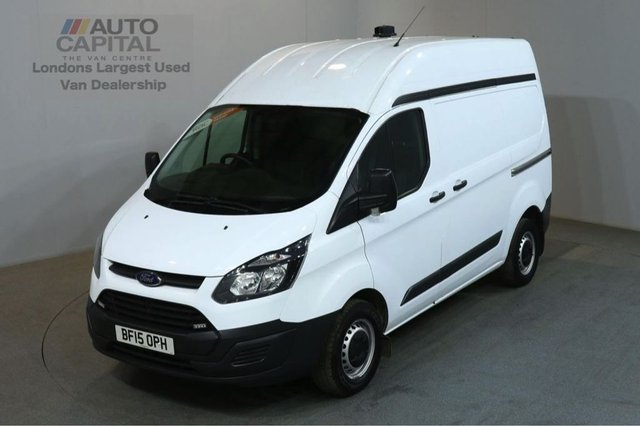 2015 15 FORD TRANSIT CUSTOM 2.2 290 100 BHP SWB ECO-TECH M/ROOF AIR CON VAN