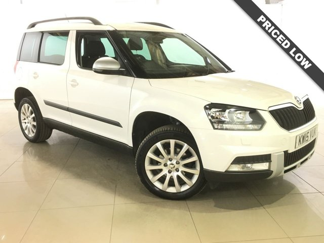 View our 2015 15 SKODA YETI 2.0 OUTDOOR SE BUSINESS NAV TDI SCR 5d 109 BHP