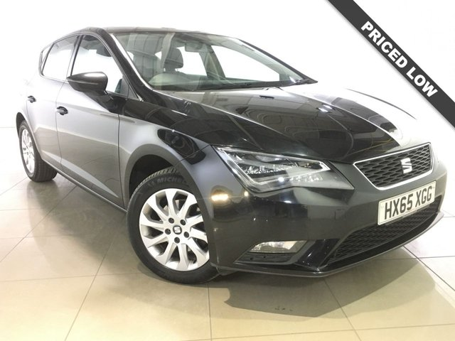 View our 2015 65 SEAT LEON 1.6 TDI SE TECHNOLOGY NAV 5d 110 BHP