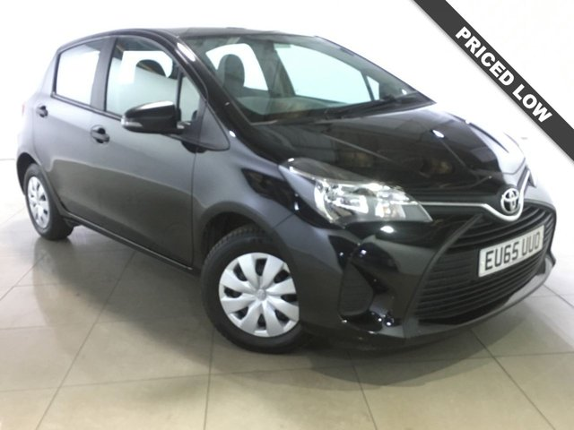 View our 2015 65 TOYOTA YARIS 1.0 VVT-I ACTIVE 5d 69 BHP