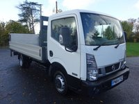 USED 2014 64 NISSAN NT400 CABSTAR 35.14 DROPSIDE WITH TAILIFT 2.5 DCI 136 BHP Direct From Leasing Company With Low Mileage & F/S/H, Fitted With LWB Scattolini Alloy Dropside And 500 Kg Tailift, First Class Example!