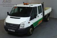 USED 2013 62 FORD TRANSIT 2.2 350 124 BHP LWB 6 SEATER COMBI TIPPER  REAR BED LENGTH 9 FOOT 4 INCH