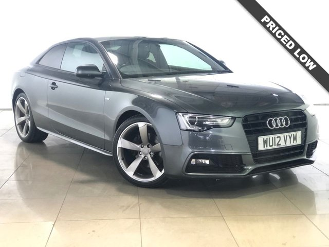 View our 2012 12 AUDI A5 2.0 TDI S LINE BLACK EDITION 2d 177 BHP