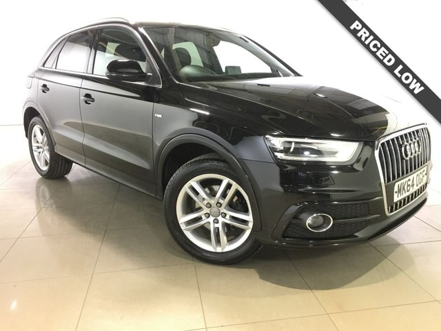 View our 2014 64 AUDI Q3 2.0 TDI S LINE 5d 138 BHP