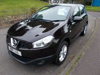 USED 2011 11 NISSAN QASHQAI 1.5 DCI ACENTA ++LOW MILEAGE DIESEL WITH SERVICE HISTORY+12 MONTHS FREE AA BREAKDOWN COVER++