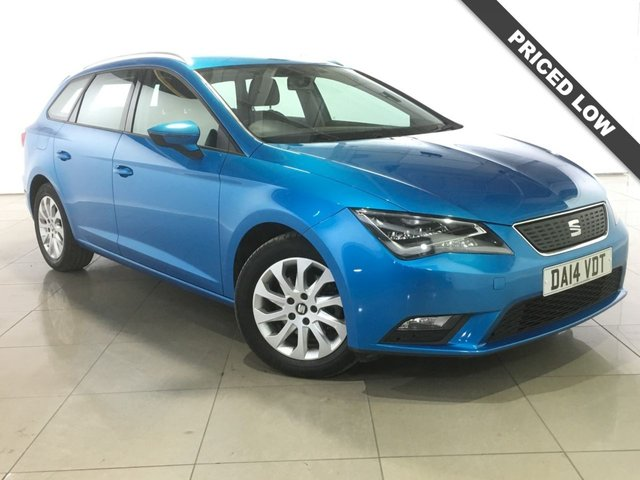 View our 2014 14 SEAT LEON 1.6 TDI ECOMOTIVE SE TECHNOLOGY NAV 5d 110 BHP
