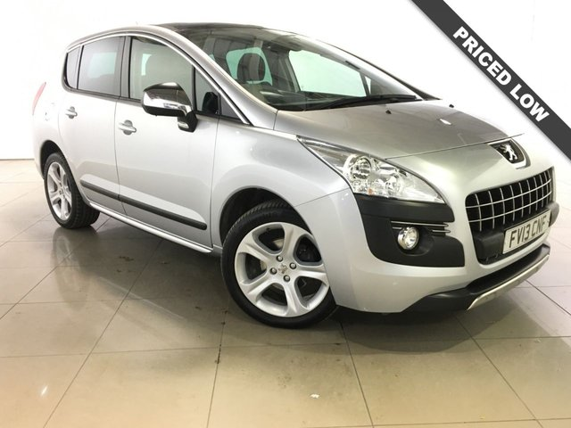 View our 2013 13 PEUGEOT 3008 1.6 ALLURE HDI FAP 5d 115 BHP
