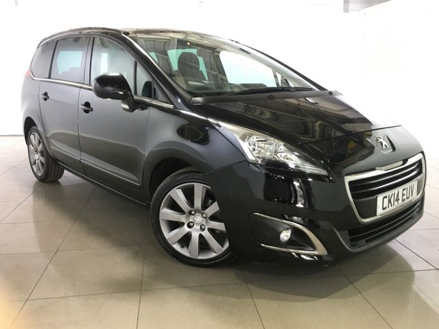 View our 2014 14 PEUGEOT 5008 1.6 E-HDI ALLURE 5d AUTO 115 BHP