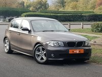 2007 BMW 1 SERIES 2.0 118D SPORT 5d 121 BHP £4290.00