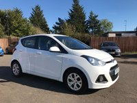 USED 2015 15 HYUNDAI I10 1.2 SE 5d ONE PRIVATE OWNER AND 3 SERVICE STAMPS  NO DEPOSIT  PCP/HP FINANCE ARRANGED, APPLY HERE NOW