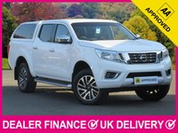 USED 2017 66 NISSAN NP300 NAVARA NP300 2.3 DCI N-Connecta Hardtop Canopy Sat Nav HARDTOP CANOPY SAT NAV REVERSE CAM CRUISE CLIMATE
