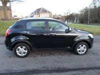 2011 SSANGYONG KORANDO 2.0 S 5d 175 BHP £6444.00