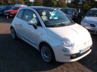 2008 FIAT 500 1.2 LOUNGE 3d 69 BHP £3750.00