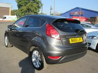 USED 2015 65 FORD FIESTA 1.0 TITANIUM 5d 124 BHP FULL SERVICE HISTORY - SEE IMAGES