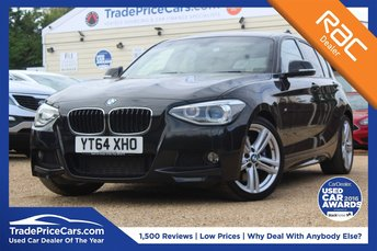 2014 BMW 1 SERIES 2.0 125D M SPORT 5d 215 BHP £14950.00